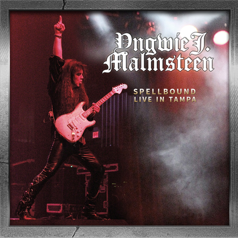 Yngwie Malmsteen - 'Spellbound - Live in Tampa' 2CD + DVD