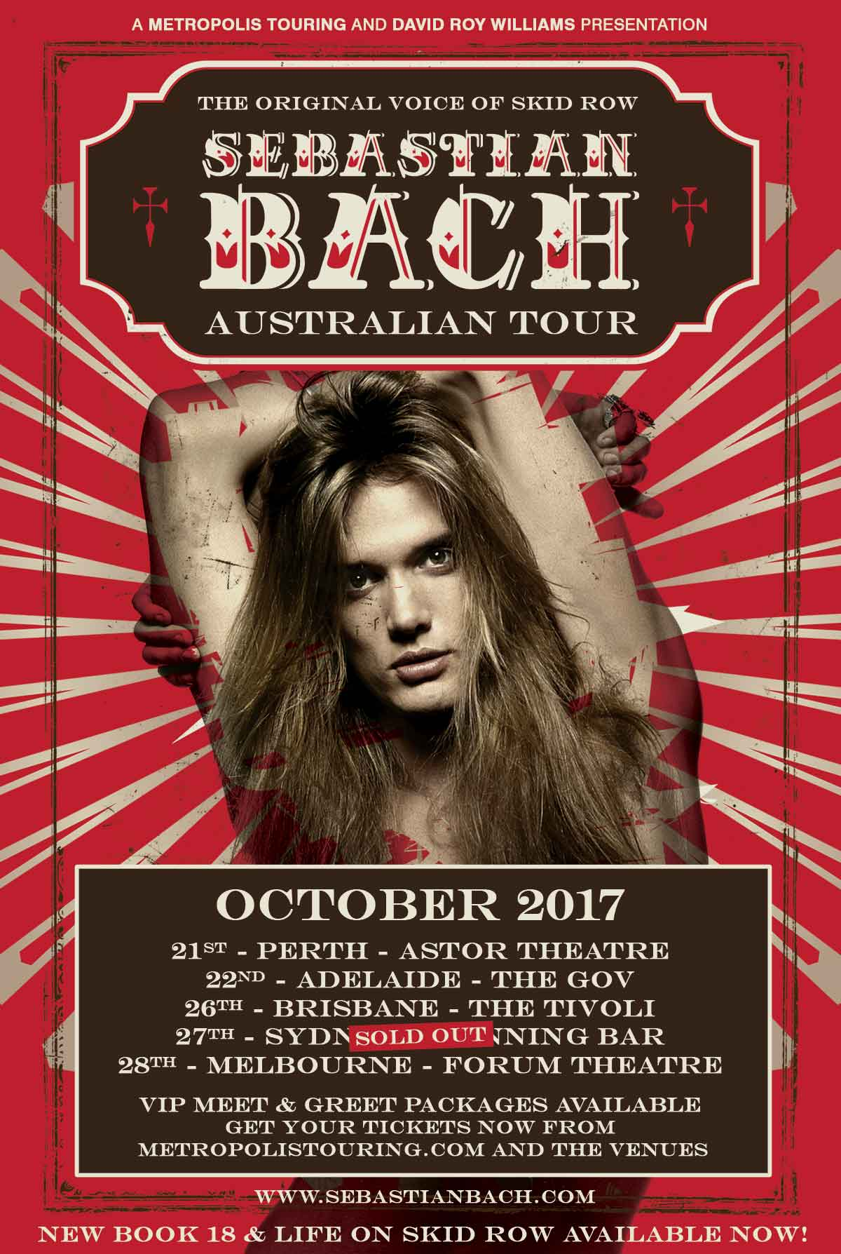 Sebastian bach drw entertainment bookings closed kristyandbryce Images