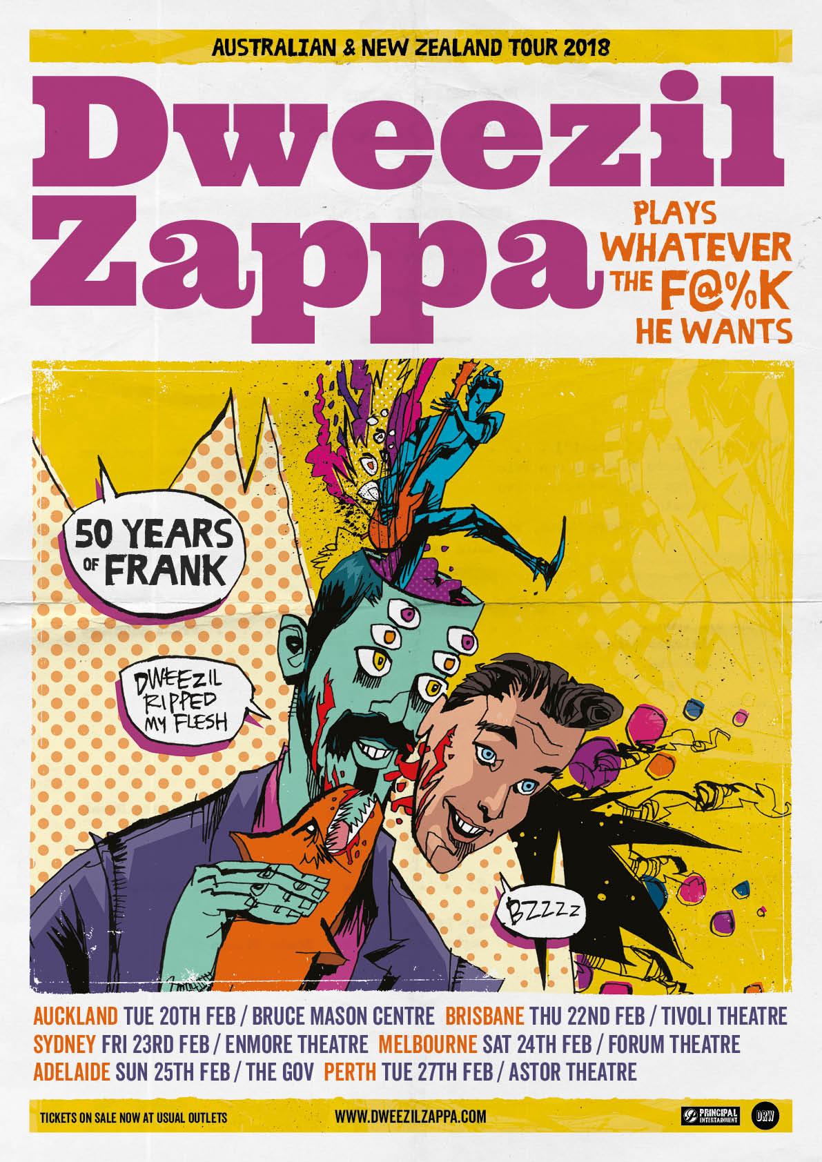 Dweezil Zappa Drw Entertainment