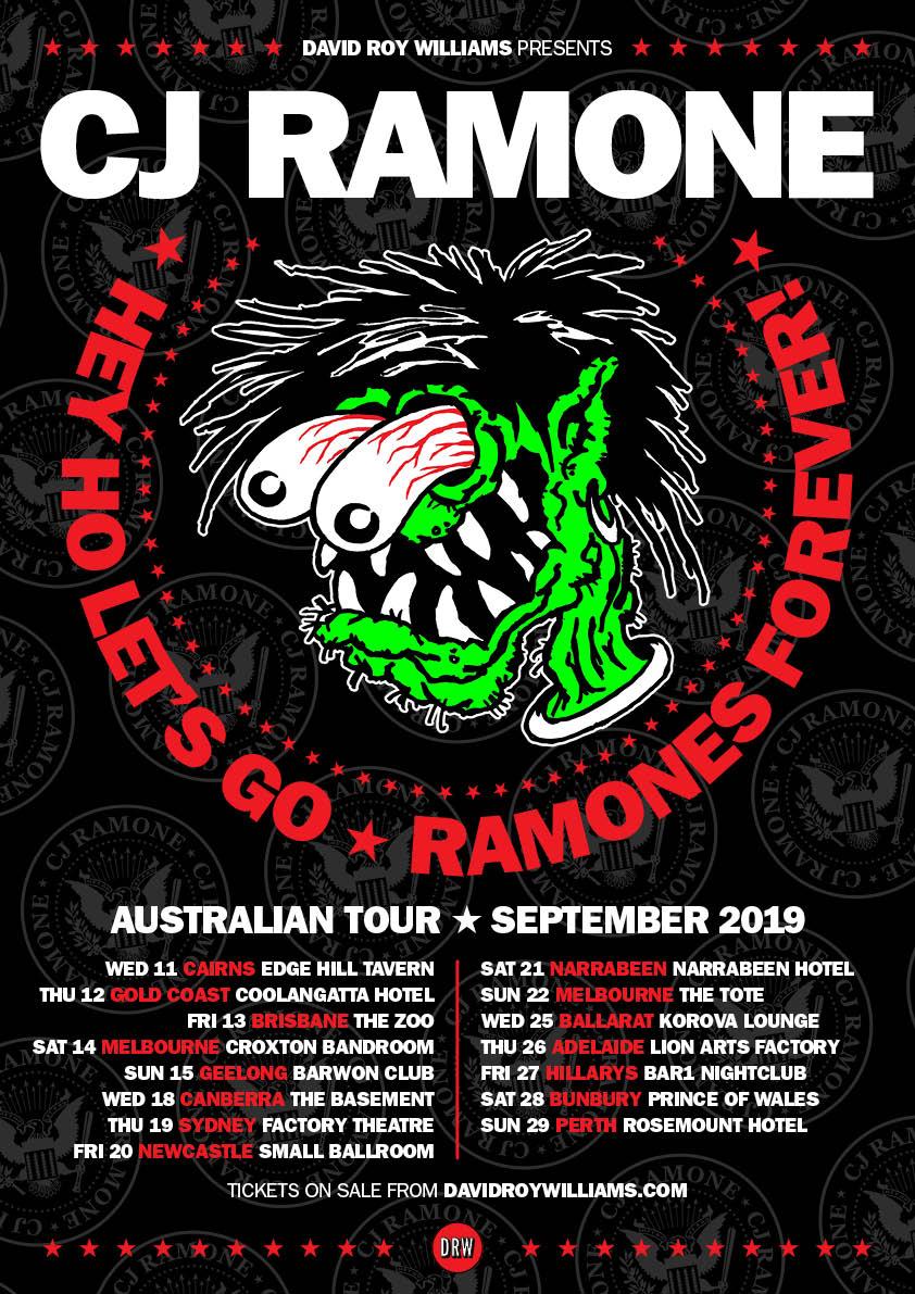 CJ RAMONE 2019 TOUR | DRW Entertainment